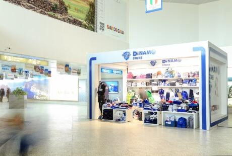 Dinamo Store all'Aeroporto di Alghero