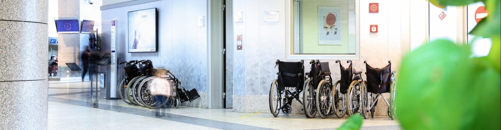 Assistenza a passeggeri con mobilità ridotta