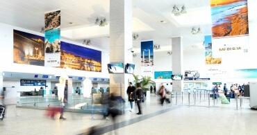 Area Check-in Aeroporto di Alghero