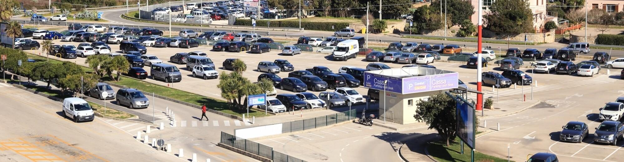 Area parcheggio Aeroporto di Alghero