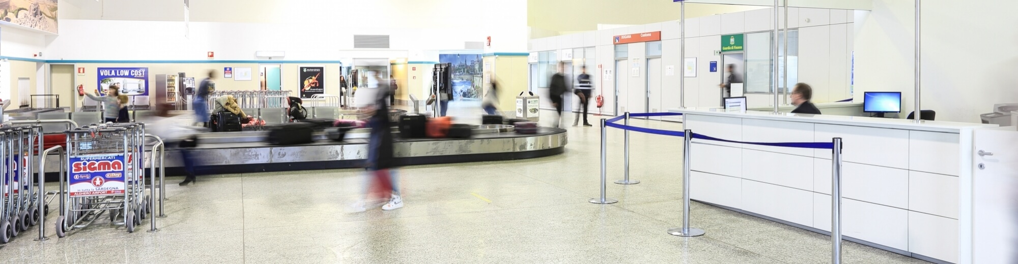 Ritiro Bagagli Aeroporto di Alghero