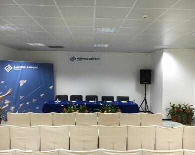 Sala conferenze Aeroporto di Alghero