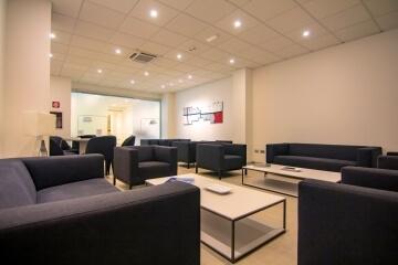 Salotto confortevole nella Sala Executive