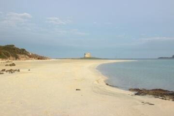Sabbia bianchissima a Stintino