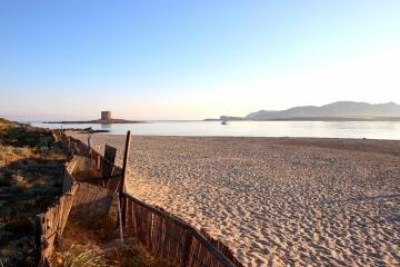 Alba sulla Spiaggia della Pelosa