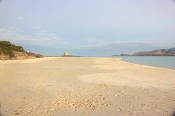 Spiaggia sabbiosa della Pelosa
